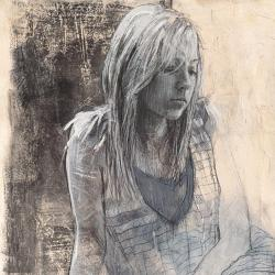 Carte Massimiliano Longo - Caroline - 14x14 cm