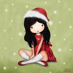 Carte Jolinne - Christmas Gift - 14x14 cm