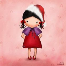 Carte Jolinne - Merry Christmas - 14x14 cm