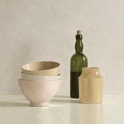 Carte Willem de_Bont - Stacked Bowls, Bottle and little Jar - 14x14 cm