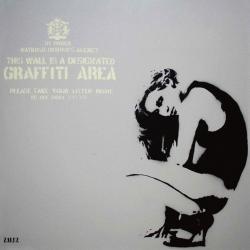 Carte Zalez - Graffiti Area II - 14x14 cm