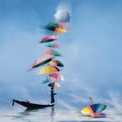 Carte Maïlo - Imaginer le monde: équilibrer - 14x14 cm