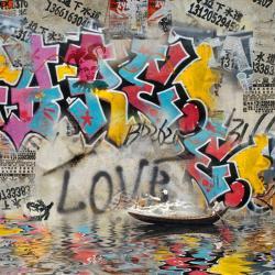 Carte Maïlo - Impressions urbaines love - 14x14 cm