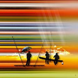 Carte Maïlo - Les passagers de la lumière - 14x14 cm