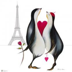 Carte Marilyn Robertson - L'amour - 14x14 cm