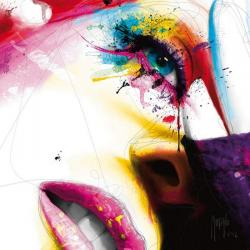 Carte Patrice Murciano - Sensual colors - 14x14 cm