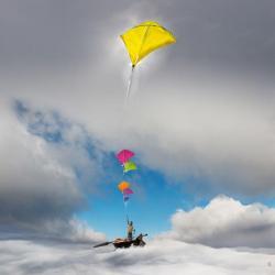 Carte Maïlo - Enchanter le monde: équilibrer - 14x14 cm