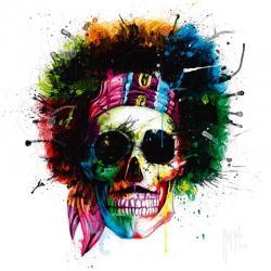 Carte Patrice Murciano - Woodstock Skull - 14x14 cm