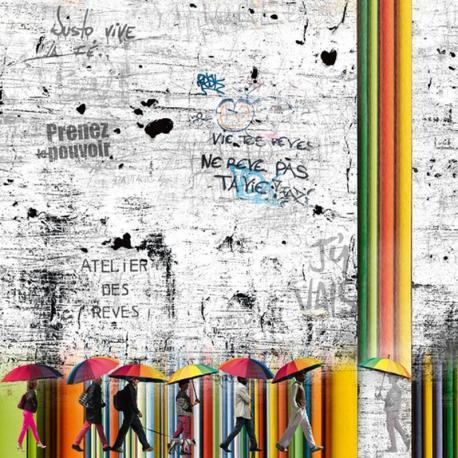 Carte Maïlo - Les passagers des rêves - 14x14 cm