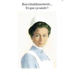 Carte Cath Tate - Bon rétablissement... - 10.5x15 cm