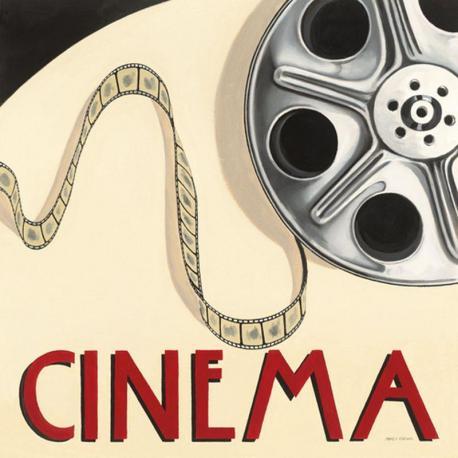 Carte Marco Fabiano - Cinéma - 14x14 cm