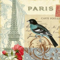 Carte Alain Pelletier - Memories I - 14x14 cm