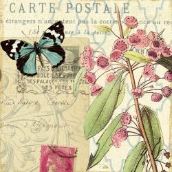 Carte Alain Pelletier - Memories II - 14x14 cm