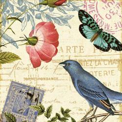 Carte Alain Pelletier - Memories IV - 14x14 cm