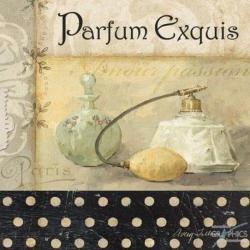 Carte Avery Tillmon - Parfum élegant I - 14x14 cm