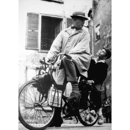 Affiche Jacques Tati - Mon oncle - Dim: 50x70 cm