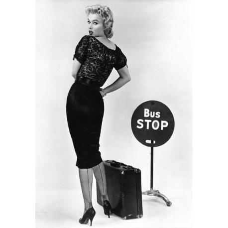 Affiche Bus Stop - Marilyn Monroe - Dim: 50x70 cm