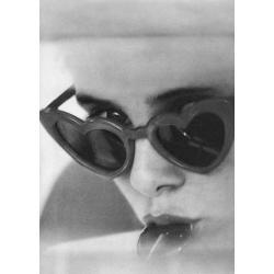 Carte Lolita avec Sue Lyon - 10.5x15 cm