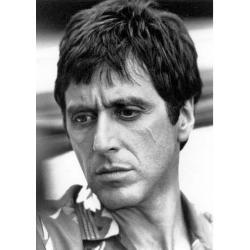 Carte du film Scarface - Al Pacino - 10.5x15 cm