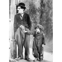 Affiche Le Kid - Charlie Chaplin - 50x70 cm