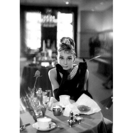Affiche Audrey Hepburn - Dim: 50x70 cm