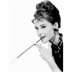Carte Audrey Hepburn - 10.5x15 cm