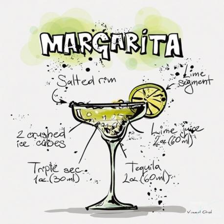 Carte Vincent Oriol - Margarita - 14x14 cm