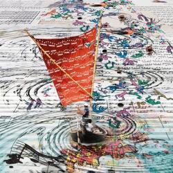 Carte Maïlo - Des notes dans les voiles - 14x14 cm