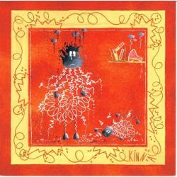 Carte Kinna - Alberto II - 14x14 cm