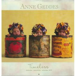 Calendrier collector Anne Geddes 2012 filmé 30x30 cm
