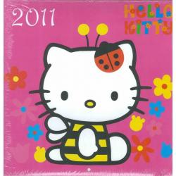 Calendrier collector Hello Kitty 2011 filmé 30x30 cm