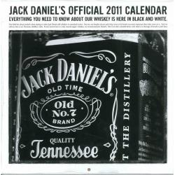 Calendrier Jack Daniel's 2011 filmé 30x30 cm