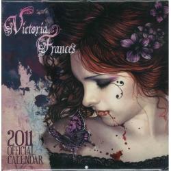 Calendrier collector Victoria Frances 2011 filmé 30x30 cm