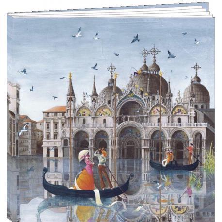 "Agenda 2017 Marie-Anne Foucart ""Venise"" 16.5 x 16 cm"