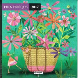 Calendrier collector Mila Marquis 2017 - 16x16 cm