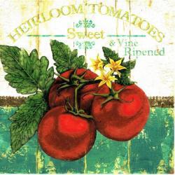 Carte Marie-Elaine Cusson - Heirloom Tomatoes - 14x14 cm