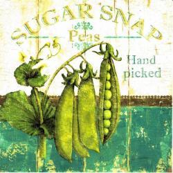 Carte Marie-Elaine Cusson - Sugar Snap - 14x14 cm
