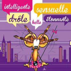 Carte Ze Souris - Intelligente, sensuelle, drôle, belle, étonnante... - 15x15 cm