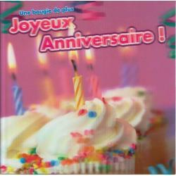 Carte Ze Souris - Une bougie de plus, Joyeux anniversaire!... - 15x15 cm