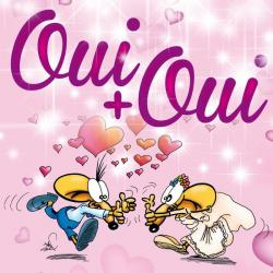 Carte Ze Souris - Oui + oui... - 15x15 cm
