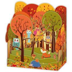 Carte Relief Petits Brins de Vie - Dans les bois - 10x10.5x5 cm