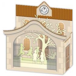 Carte 3D Petits Brins de Vie - L'école - 10x10.5x5 cm