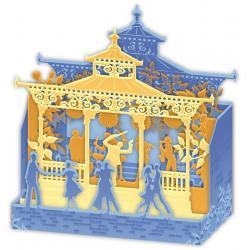 Carte Relief Petits Brins de Vie - Le bal - 10x10.5x5 cm