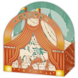 Carte 3D Petits Brins de Vie - Le cirque - 10x10.5x5 cm