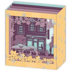 Carte 3D Petits Brins de Vie - Scène de vie - 10x10.5x5 cm