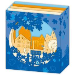 Carte 3D Petits Brins de Vie - Coeur de ville - 10x10.5x5 cm
