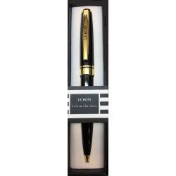 Stylo Black & Gold - Le boss - Offrez un cadeau personnalisé !