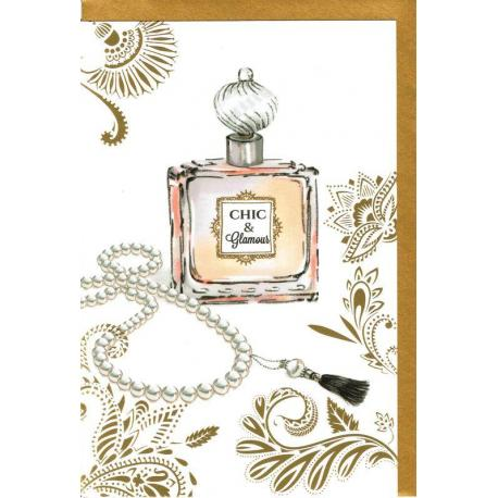 Carte Very Chic - Chic et glamour - 12x17 cm