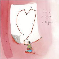 """Carte Anne-Sophie Rutsaert """"Et si on s'aimait à ce point?"""" 14x14 cm"""