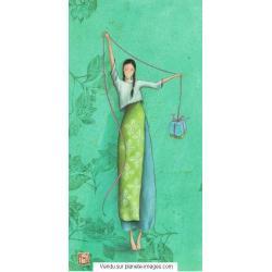 Carte Gaëlle Boissonnard 2017 - Le cadeau - 10.5x21 cm